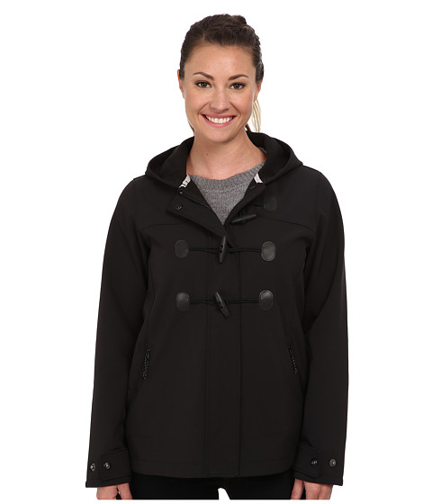Woolrich - Passage Softshell (Black) Women's Coat