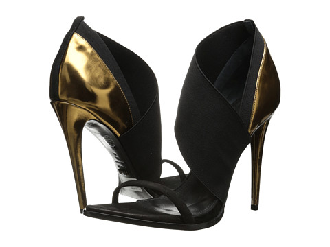 Schutz - Mimi (Black/Preto/Bronze) High Heels
