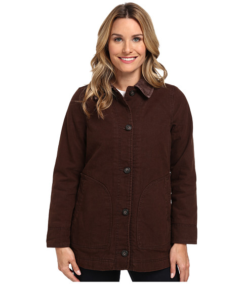 Woolrich - Dorrington Barn Jacket (Trail Brown) Women's Jacket