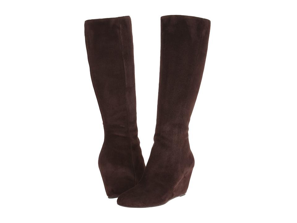 Via Spiga - Adina (Bark Kid Suede) Women's Boots