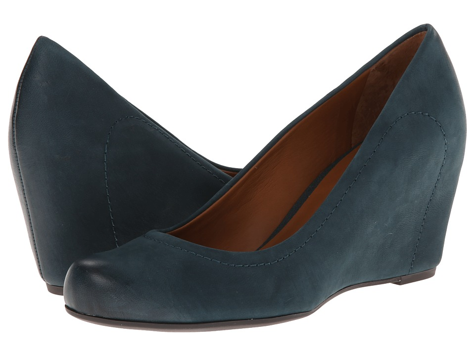 Franco Sarto - Olivia (Blue Leather) Women's Shoes