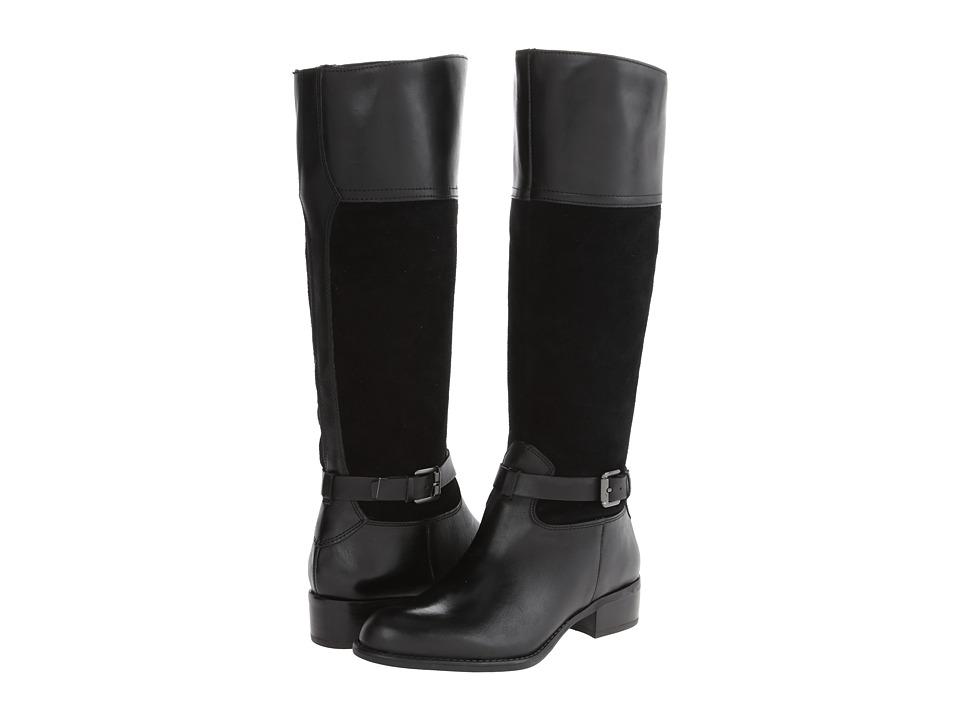 Franco Sarto - Corda (Black Leather) Women