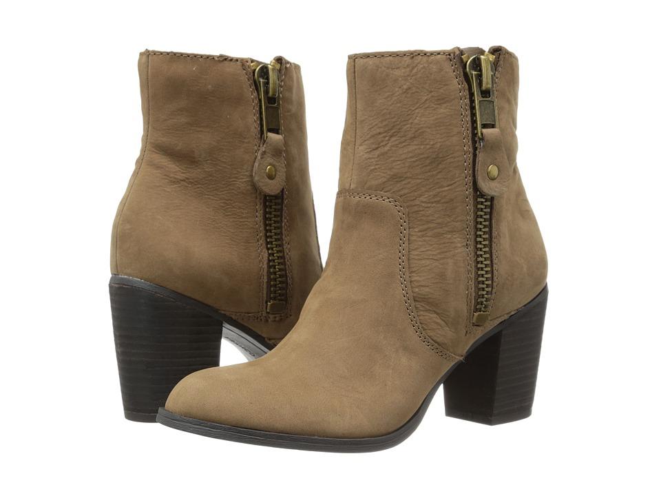 Franco Sarto - Yogi (Tobacco Leather) Women's Zip Boots