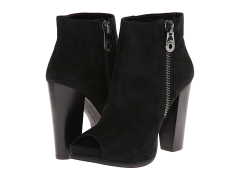 BCBGeneration - Rocco (Black Kid Suede) Women's Boots