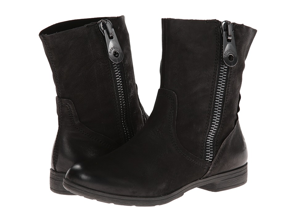 BCBGeneration - Rossy (Black Stripped Goat) Women's Zip Boots