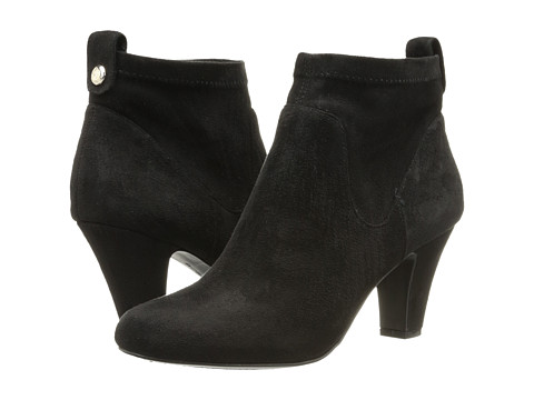 BCBGeneration - Delilah (Black Suede Stretch) Women