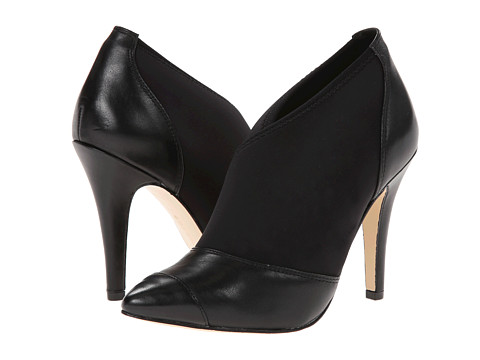 BCBGeneration - Cloie (Black Scuba/Silky Leather Elastic) High Heels