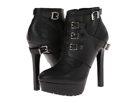 BCBGeneration - Welsh (Black Silky Leather) Women