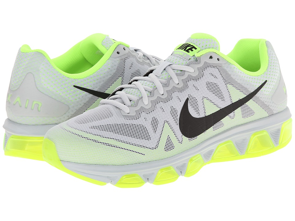 Nike - Air Max Tailwind 7 (Pure Platinum/Volt/Black) Men's Running Shoes