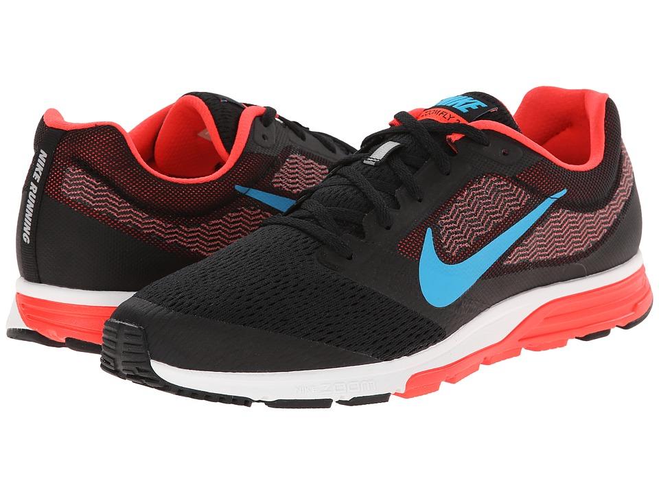 Nike - Zoom Fly 2 (Black/Bright Crimson/White/Blue Lagoon) Men's Running Shoes