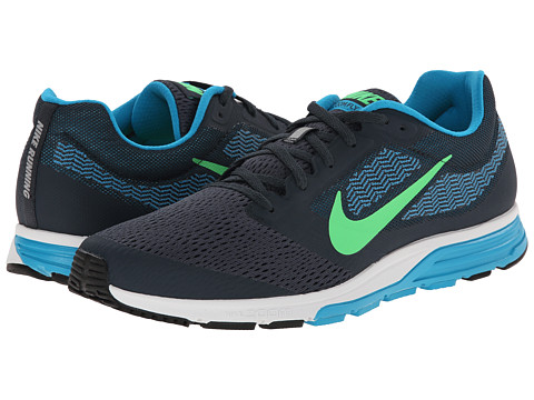 Nike - Zoom Fly 2 (Classic Charcoal/Blue Lagoon/White/Poison Green) Men's Running Shoes