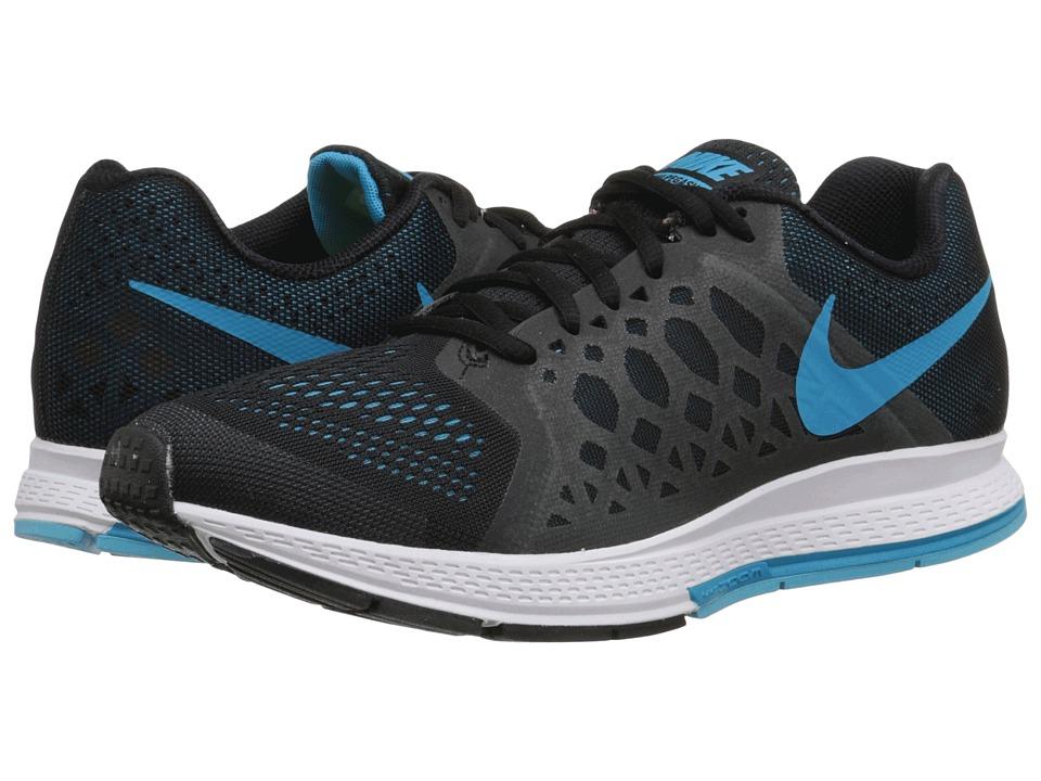 Nike - Zoom Pegasus 31 (Black/Clearwater/White/Blue Lagoon) Men's Running Shoes