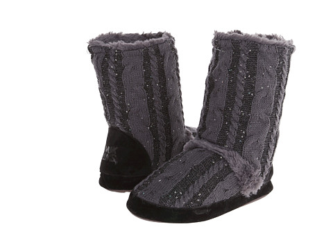 MUK LUKS - Jenna Sprinkled (Sharkfin) Women's Boots