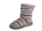 MUK LUKS Jenna Shades of Grey (Fossil)