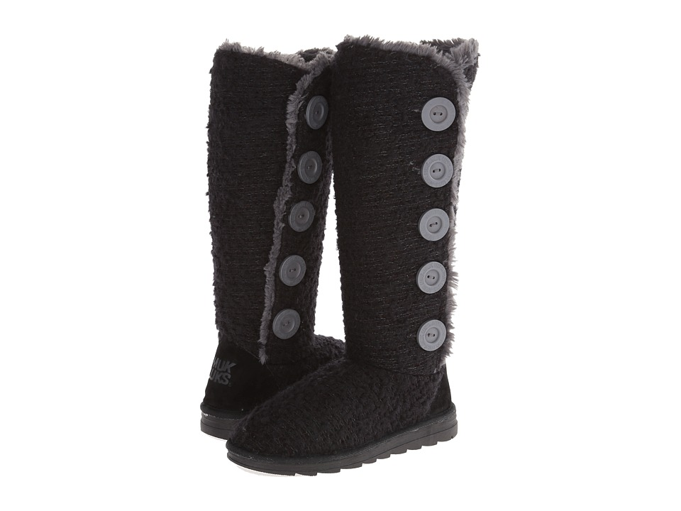 MUK LUKS - Malena Sweater Boot (Black) Women