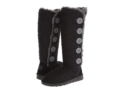 MUK LUKS - Malena Sweater Boot (Black) Women's Pull-on Boots