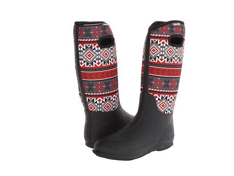 MUK LUKS - Karen Rain Boot (Black) Women's Rain Boots
