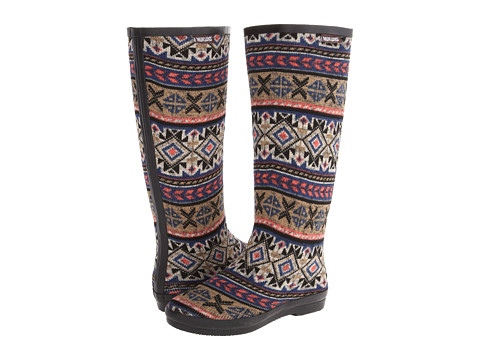 MUK LUKS - Aubrie Rain Boot (Concord Grape) Women