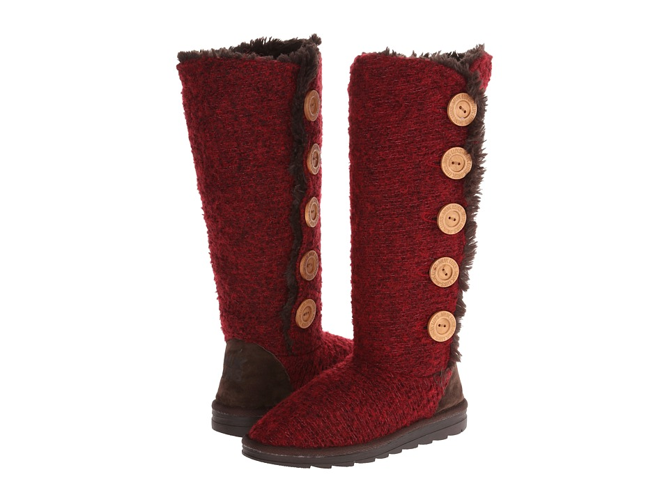 MUK LUKS - Malena Sweater Boot (Red) Women