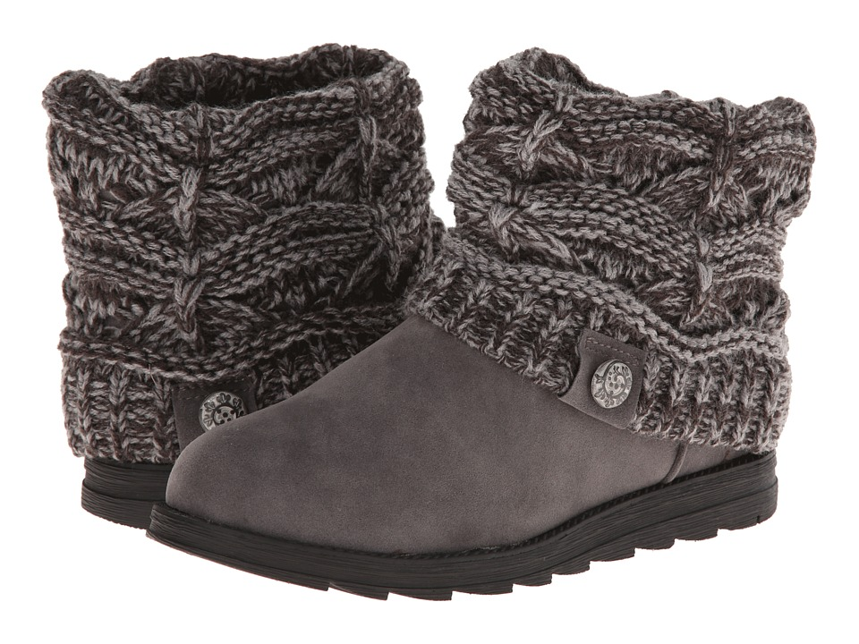 MUK LUKS - Patti (Grey) Women's Cold Weather Boots