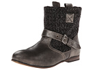 MUK LUKS Mia (Distressed Black)