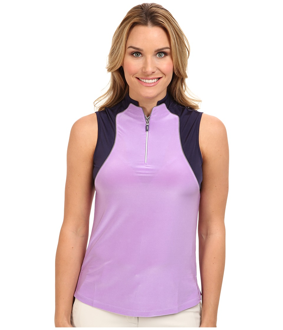 DKNY Golf - Embossed Sleeveless Top (Violetta) Women's Sleeveless