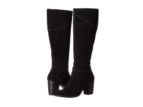 Franco Sarto - Yamka (Black Suede) Women's Shoes