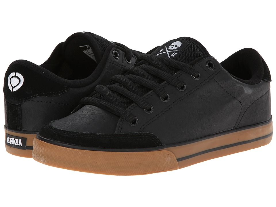 Circa - Lopez 50 (Black/White/Gum 1) Men