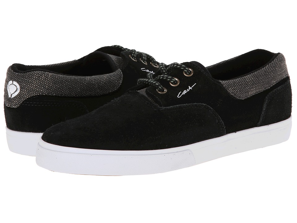 Circa - Valeo (Special Edition) (Black/Forest) Men's Skate Shoes