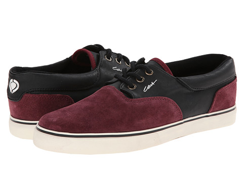 Circa - Valeo (Special Edition) (Burgundy/Black) Men's Skate Shoes
