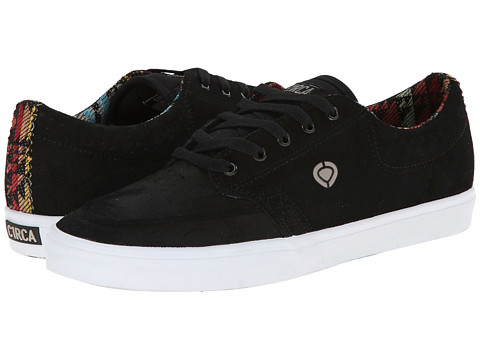 Circa - Transit (Black/Sonora) Men's Skate Shoes