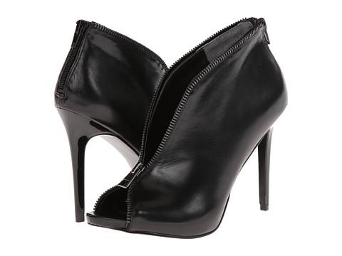 CARLOS by Carlos Santana - Veruca (Black Leather) High Heels