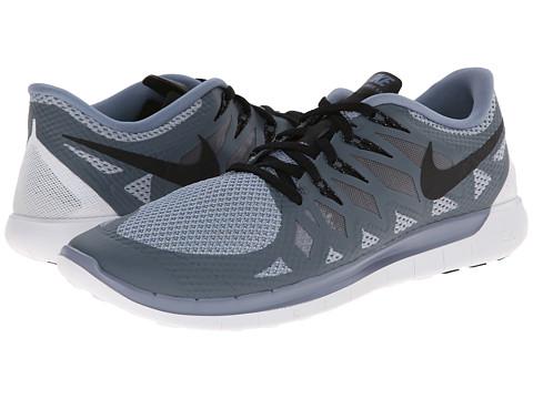 Nike - Nike Free 5.0 '14 (Cool Blue/Wolf Grey/Black) Men's Running Shoes