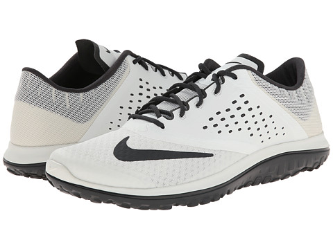 Nike - FS Lite Run 2 (Summit White/Black/Anthracite) Men's Running Shoes