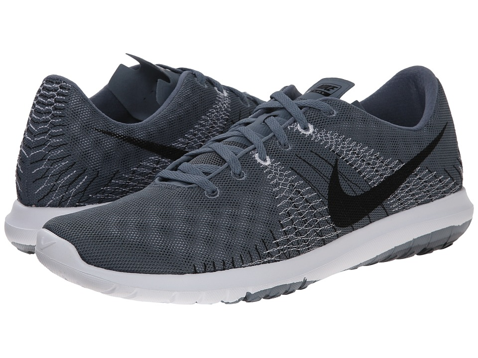 Nike - Flex Fury (Blue Graphite/Classic Charcoal/Black/White) Men's Running Shoes