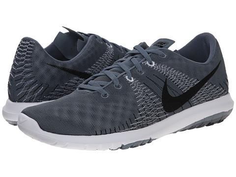 Nike - Flex Fury (Blue Graphite/Classic Charcoal/Black/White) Men