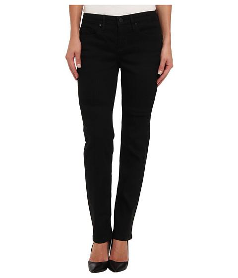 Calvin Klein Jeans - Curvy Straight Leg in Black (Black) Women's Jeans