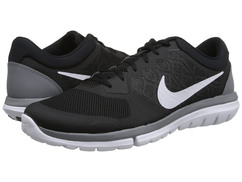 Nike - Flex 2015 RUN (Black/Cool Grey/White) Men's Running Shoes