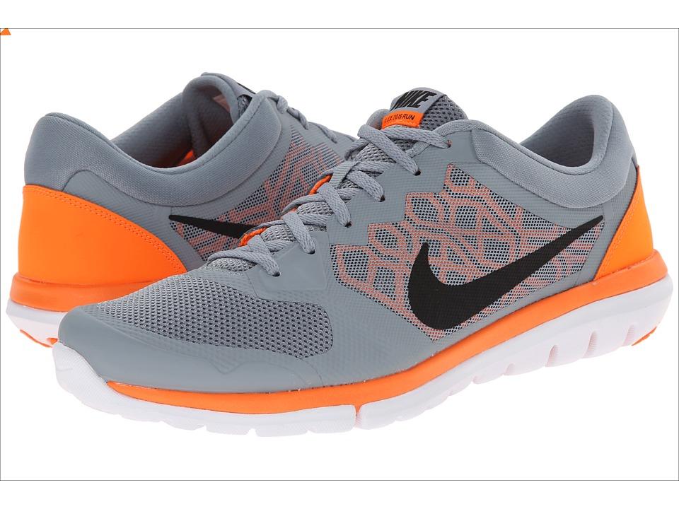 Nike - Flex 2015 RUN (Dove Grey/Total Orange/White/Black) Men's Running Shoes