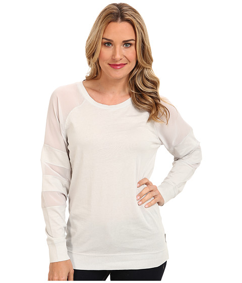 Calvin Klein Jeans - Sheer Mix Sweat Top (Captivate) Women