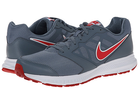 Nike - Downshifter 6 (Blue Graphite/University Red) Men's Running Shoes