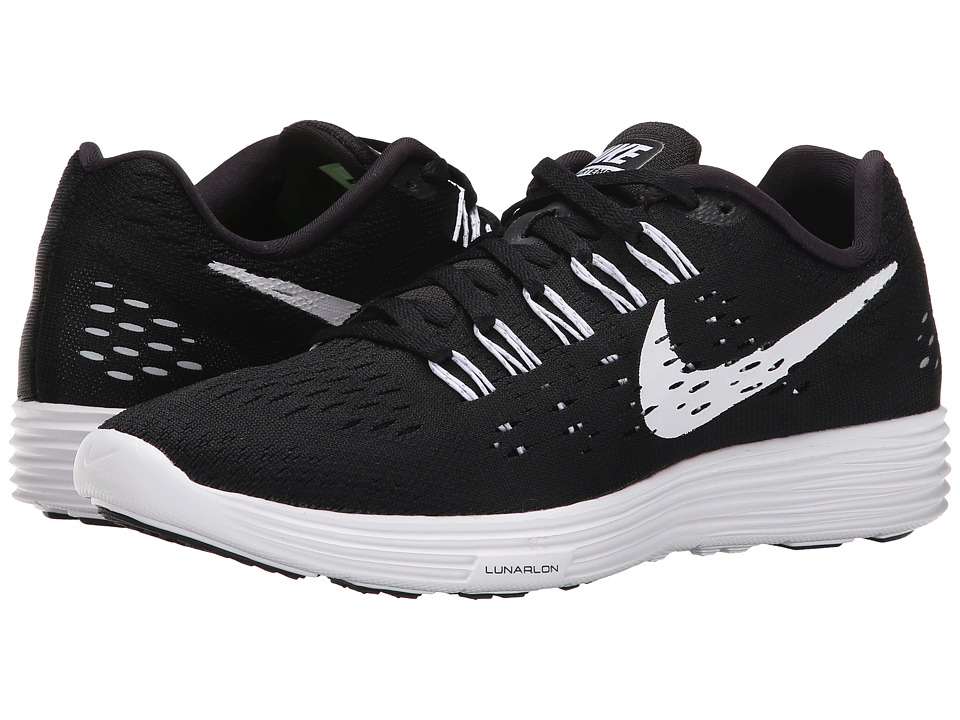 Nike - LunarTempo (Black/White/White) Women's Running Shoes