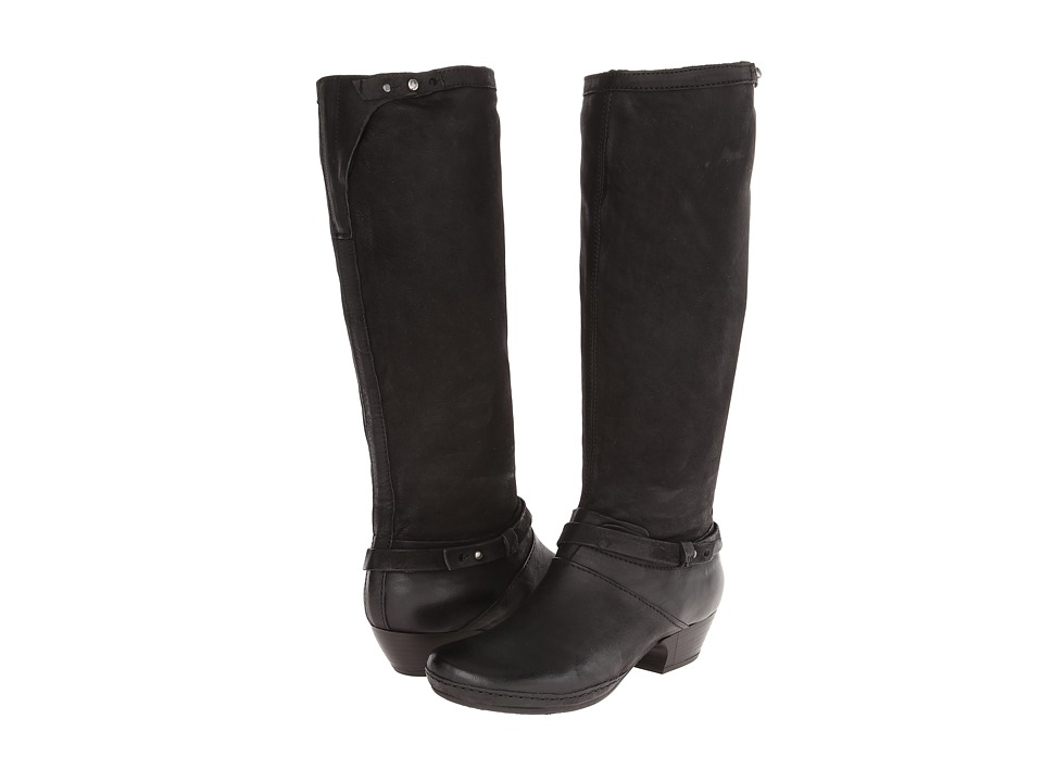 Miz Mooz - Elma (Black) Women's Pull-on Boots