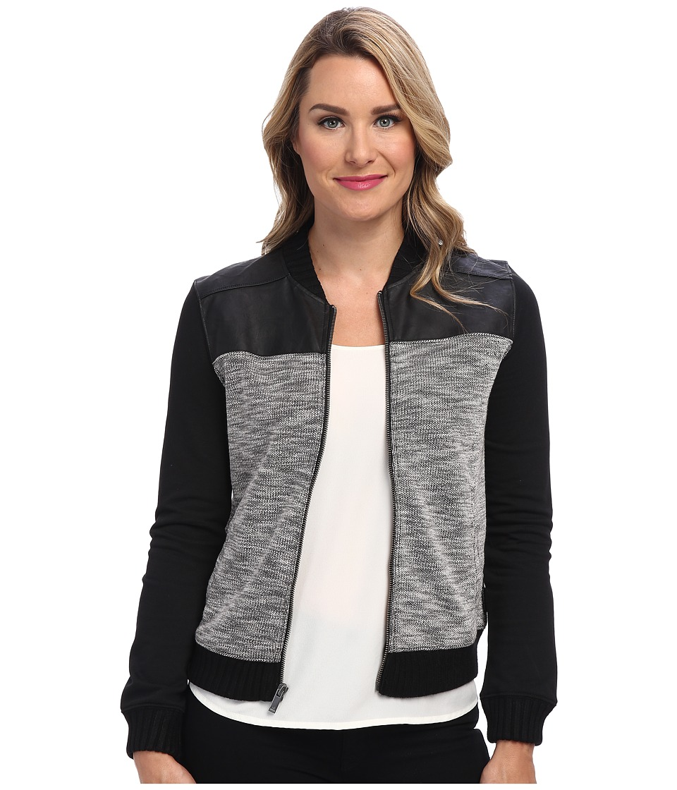 Calvin Klein Jeans - Texture Bomber Jacket (Black) Women
