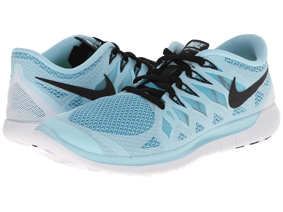 Nike - Nike Free 5.0 '14 (Ice Cube Blue/Clearwater/Black) Women's Running Shoes