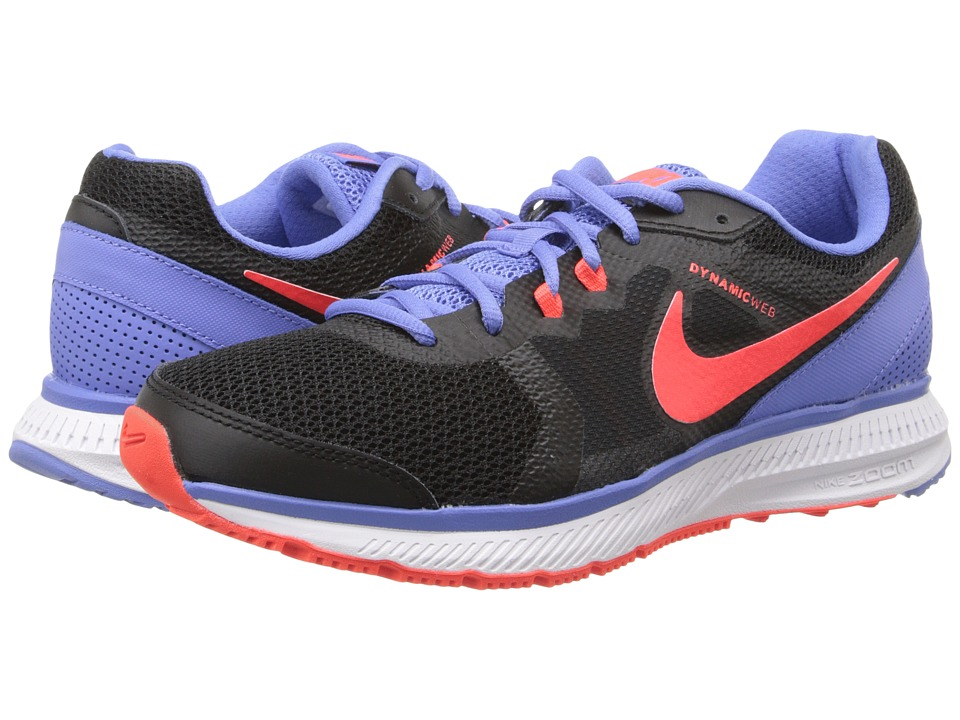 Nike - Zoom Winflo (Black/Polar/White/Bright Crimson) Women's Running Shoes