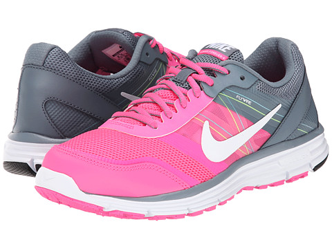 Nike - Lunar Forever 4 (Pink Pow/Blue Graphite/Volt/White) Women