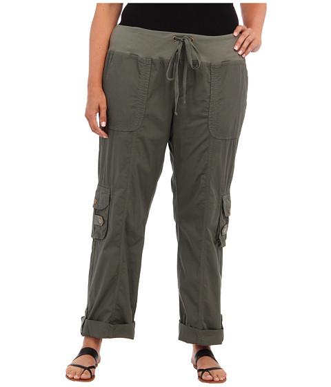 XCVI Plus Size - Plus Size Django Pant (Kale) Women's Casual Pants