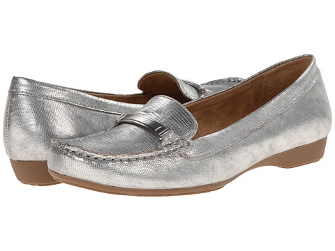 Naturalizer - Gadget (Silver Printed Lizard) Women