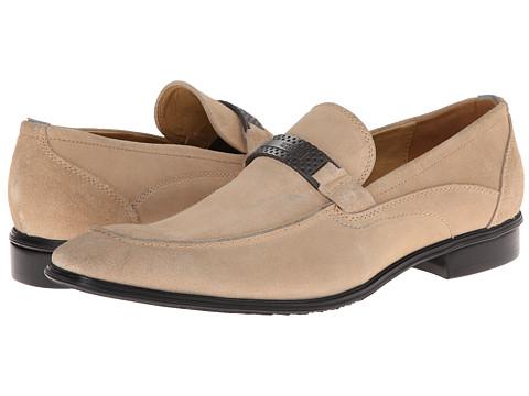 Kenneth Cole Reaction - Old West (Beige) Men's Slip-on Dress Shoes